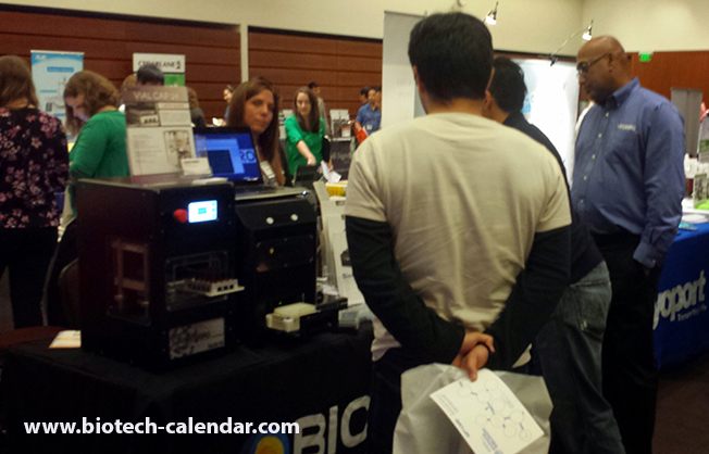 Science Fair at the University of California, San Francisco Biotechnology Vendor Showcase™ Event
