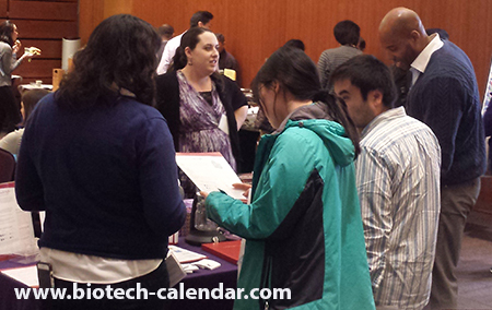 Lab Scientists at the University of California, San Francisco Biotechnology Vendor Showcase™ Event