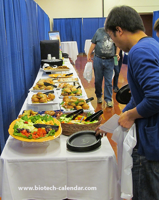 Marketing Research Shows a Happy Scientist is a Well Fed Scientist at theUniversity of California, San Diego Biotechnology Vendor Showcase™ Event