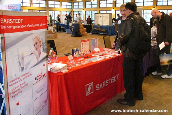 Sarstedt Inc. Science Tools Display at Emory University, Atlanta BioResearch Product Faire™ Event