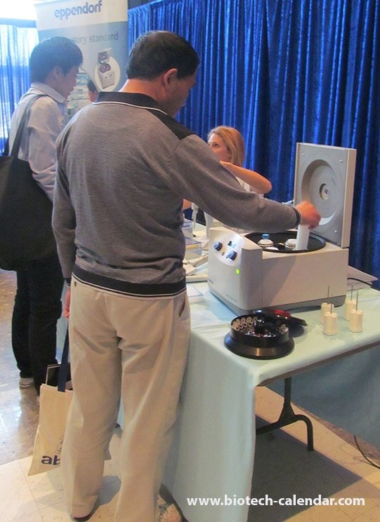 Lab equipment displayed at Los Angeles Biotechnology Vendor Showcase™ event