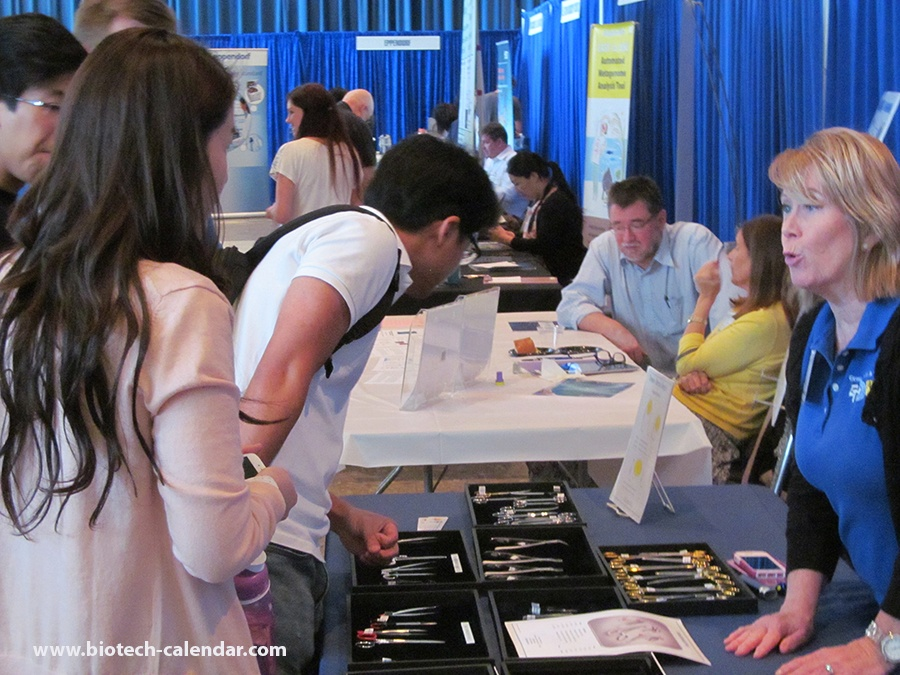 Laboratory equipment for life science researchers at UCLA BCI event