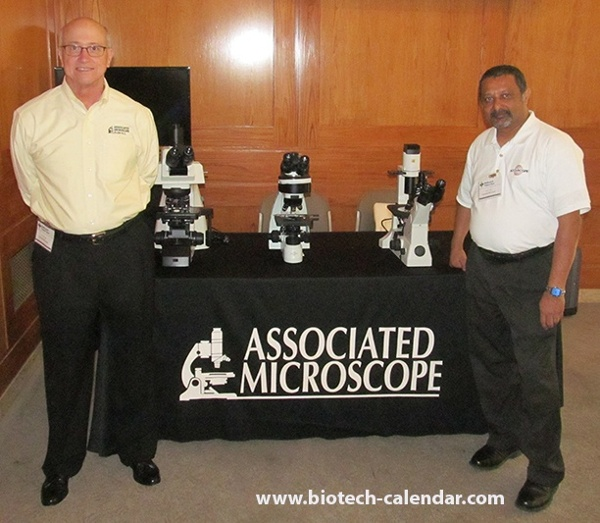 5 Star Associated Microscope Display at Duke University BioResearch Product Faire™ Event