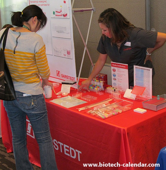 Sarstedt, Inc. Lab Equipment at University of Colorado Anschutz Medical Campus BioResearch Product Faire™ Event