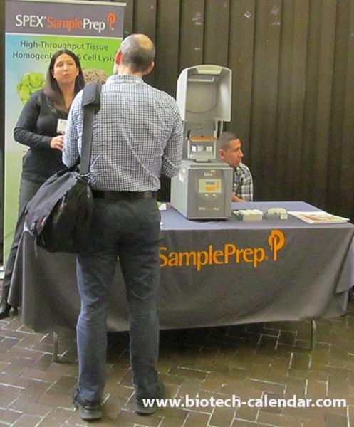 Lab Equipment Company Spex Sample Prep at Mount Sinai, School of Medicine BioResearch Product Faire™ Event