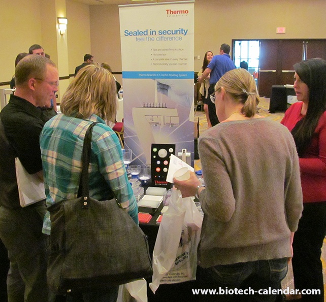 Science Current Events Hands on Booth at Rochester, Minnesota BioResearch Product Faire™ Event