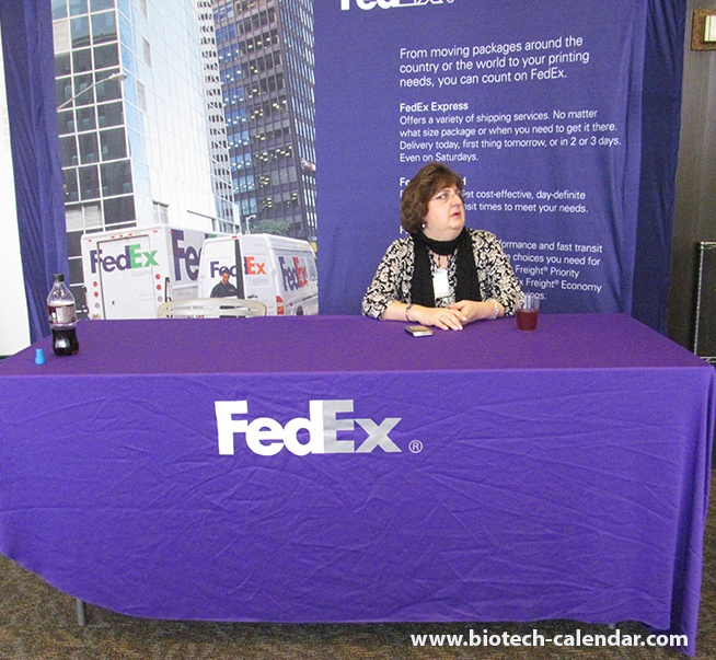 FedEx Answers Science Questions About Laboratory Equipment Shipping at Rockefeller University Spring BioResearch Product Faire™ Event