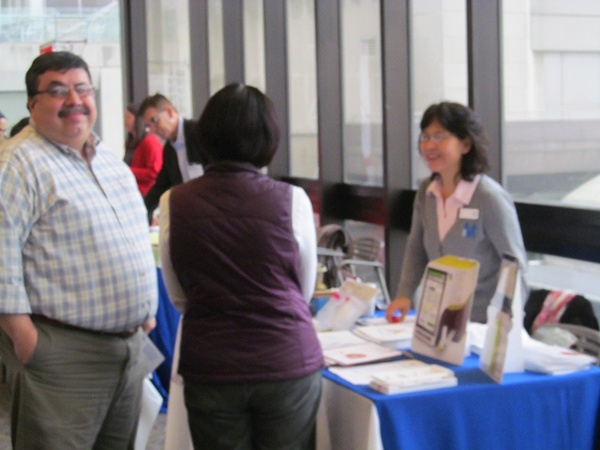Happy Scientist Finds New Science Tools at Rockefeller University Spring BioResearch Product Faire™ Event