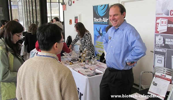Happy Scientists Rockefeller University BioResearch Product Faire™ Event