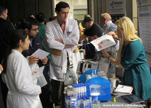 Scientists Rockefeller University BioResearch Product Faire™ Event