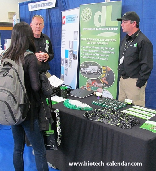 Laboratory Equipment Repair Services at University of California, San Francisco Biotechnology Vendor Showcase™ Event