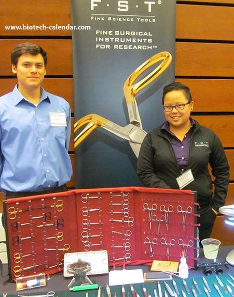 Fine Science Tools University of California, San Francisco, Mission Bay Biotechnology Vendor Showcase™ Event