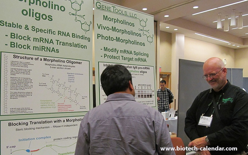 Scientist Speaks with Gene Tools at Thomas Jefferson University, Philadelphia BioResearch Product Faire™ Event
