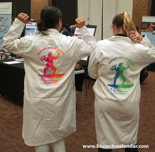 Free Lab Coats Modeled at Thomas Jefferson University, Philadelphia BioResearch Product Faire™ Event