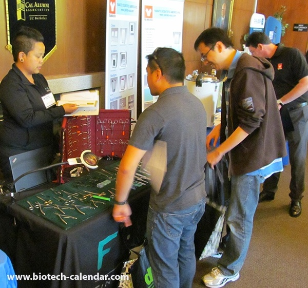 Fine Science Tools at University of California, Berkeley BioResearch Product Faire™ Event