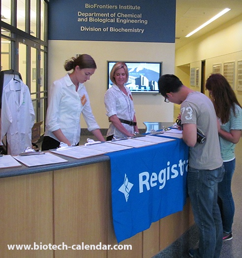 Science Fair Attendees at University of Colorado, Boulder BioResearch Product Faire™ Event