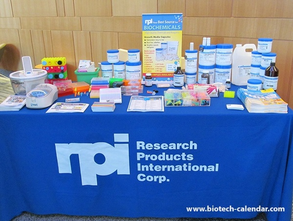 Life Science Research Products Display at University of Colorado, Boulder BioResearch Product Faire™ Event