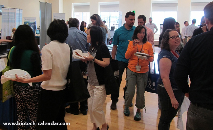 Happy Scientists Enjoy Science News and Good Food at University of Maryland, Baltimore BioResearch Product Faire™ Event