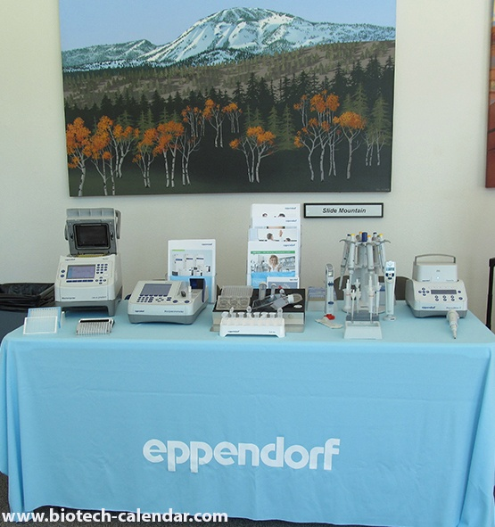 Eppendorf Science Tools Display Ready for University of Nevada, Reno BioResearch Product Faire™ Event