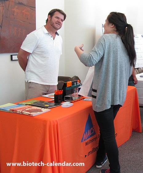 Miltenyi Biotec, Inc. Biotech Lab Equipment at University of Nevada, Reno BioResearch Product Faire™ Event