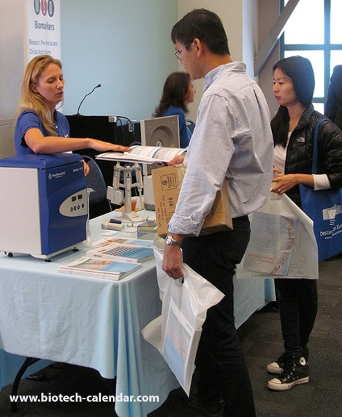 Eppendorf Lab Equipment Display at University of Southern California Health Sciences BioResearch Product Faire™ Event