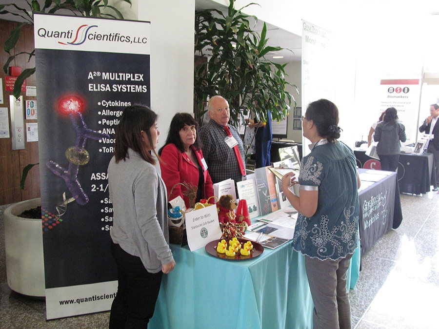 Quantiscientifics, LLC Shares Science News at University of Southern California Health Sciences BioResearch Product Faire™ Event