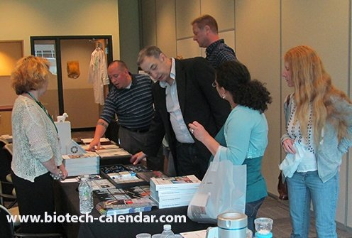 Science current events, vendors and life science researchers talking about the latest products University of Wisconsin BioResearch Product Faire™ event