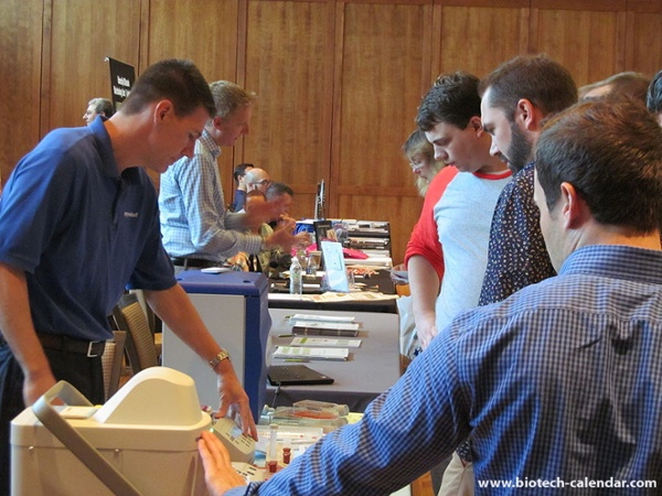 Showcasing new products in action at University of Wisconsin Research Park BioResearch Product Faire™ Event